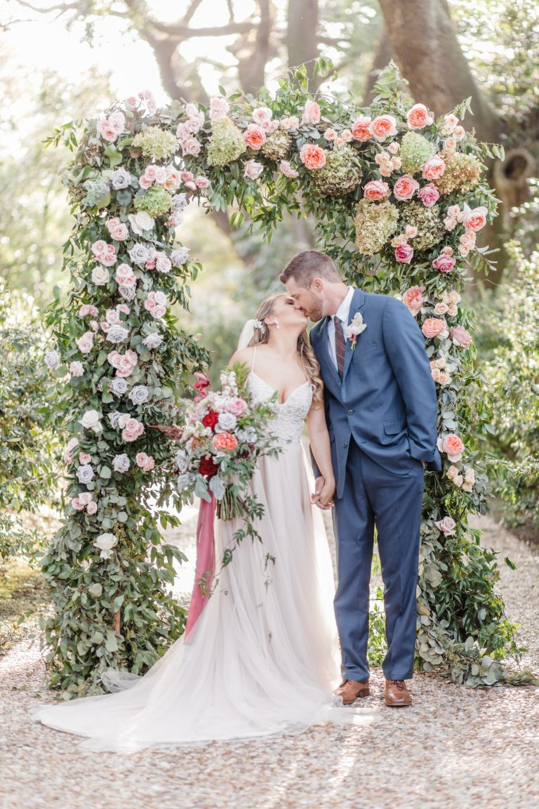 Garden Rose Wedding Arbor
