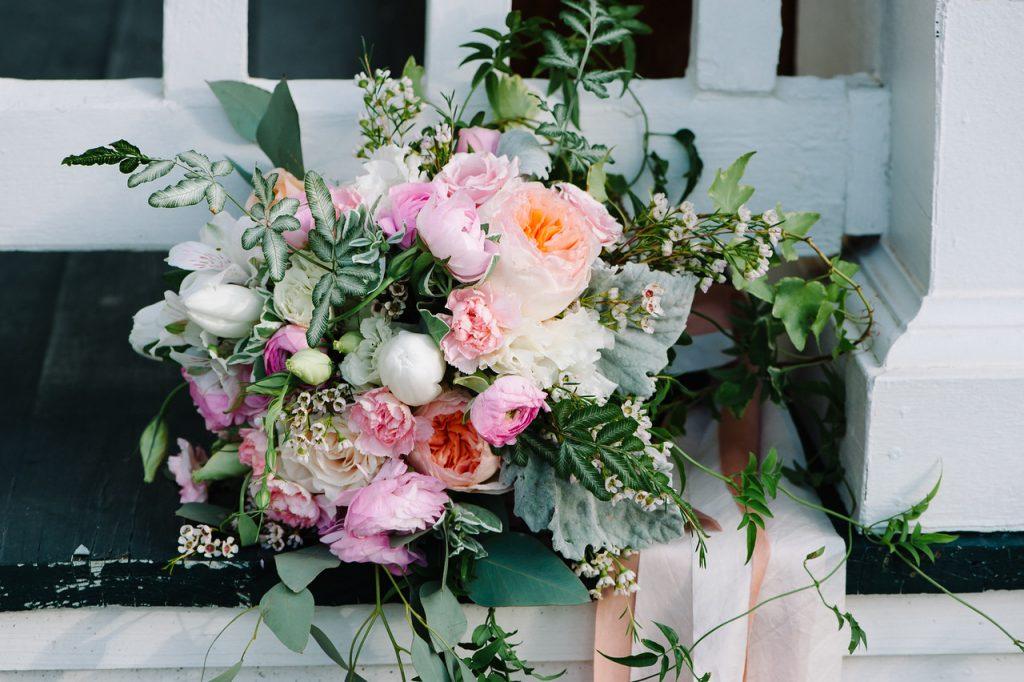 Wedding Bridal Bouquet Jubilee Flowers Fairhope Alabama