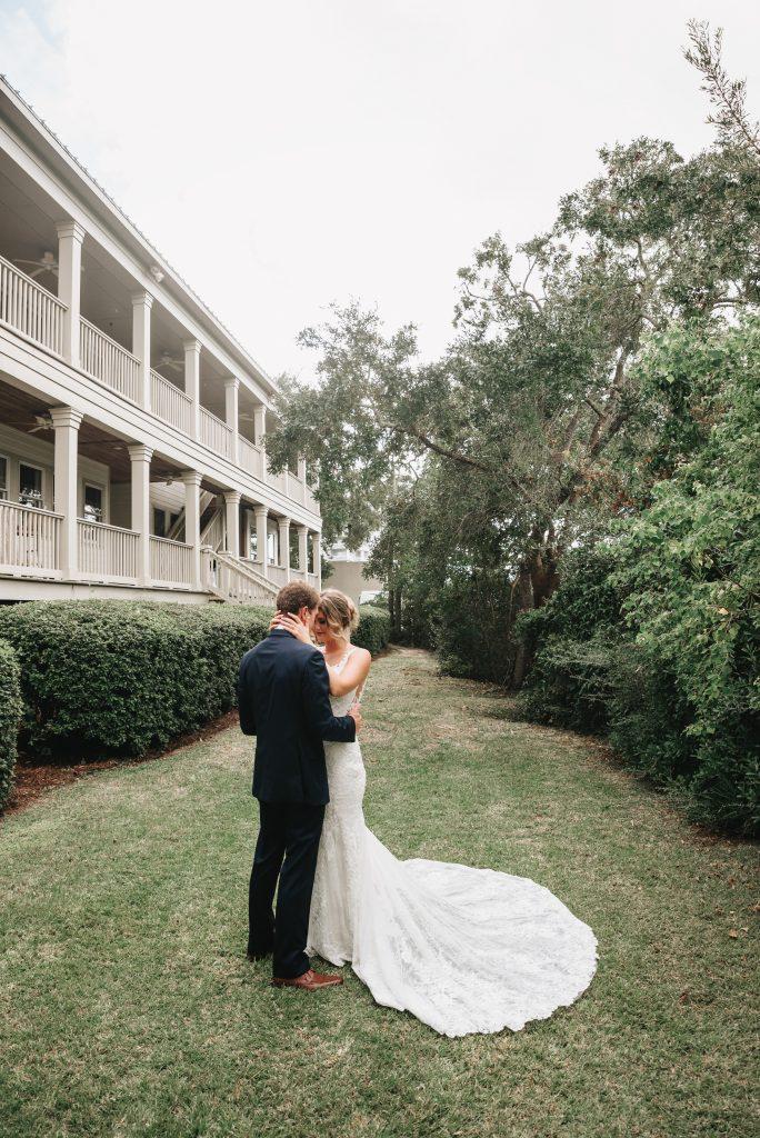 Heron Pointe at The Wharf Orange Beach, Alabama bride dress