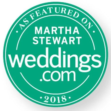 Featured on Martha Stewart Weddings