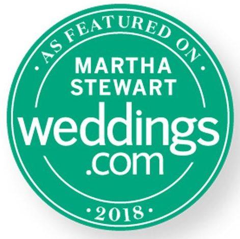 Featured on Martha Stewart Weddings